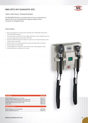 Wall Mounted Diagnostic Set